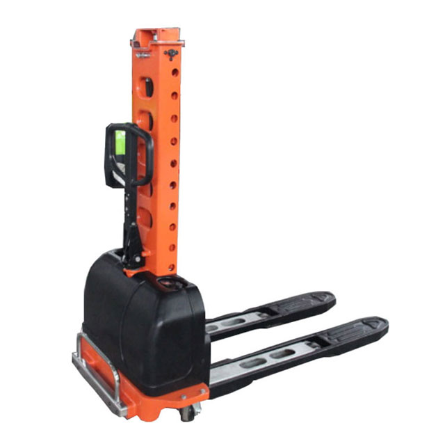 SEMI-ELECTRIC SELF-LIFT STACKER LOAD WEIGHT OF 500KG AND LIFT HEIGHT 1100MM AND 1300MM